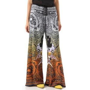 Clover Canyon Paisley/Digital Orchid Crepe Pants